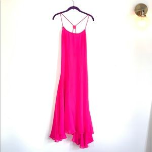 ASOS Highlighter Pink Maxi Dress